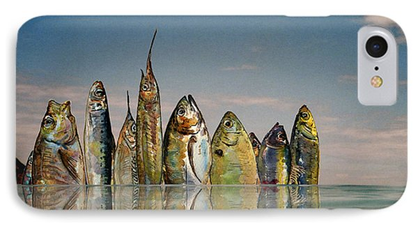 Fishhattan IPhone Case by Juan  Bosco