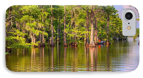 Fishing At The Bayou IPhone Case by Ester  Rogers