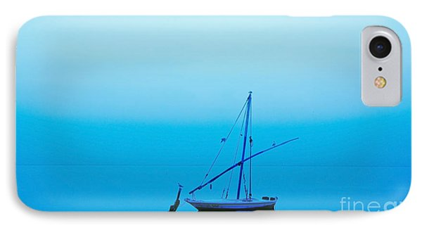 Fishing Boat  IPhone Case by Mohamed Elkhamisy
