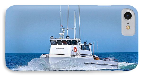 Fishing Boat Pacific Islander IPhone Case by Liz Vernand