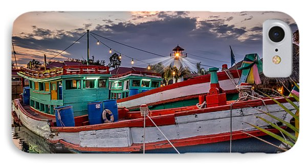 Fishing Boat V2 Phone Case by Adrian Evans