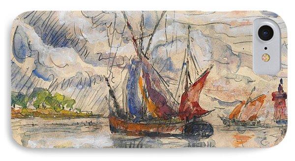 Fishing Boats In La Rochelle IPhone Case