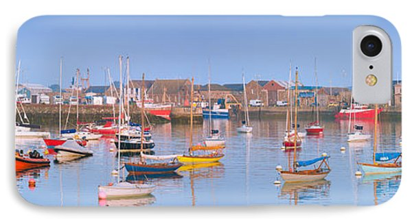 Fishing Boats In The Howth Marina IPhone Case by Semmick Photo