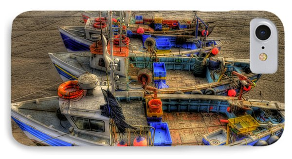 Fishing Boats Phone Case by Svetlana Sewell