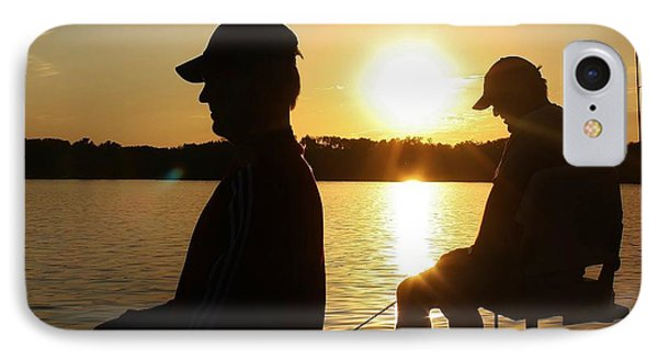 Fishing Buddies IPhone Case by Bruce Bley