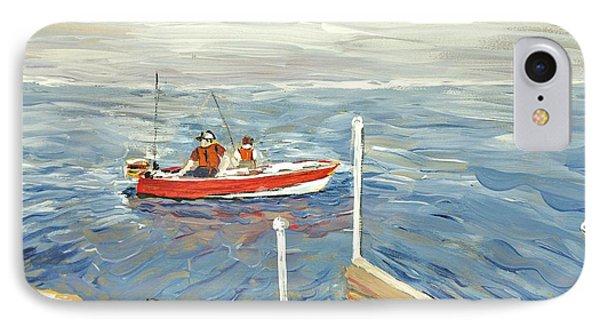 Fishing Day On Georgian Bay IPhone Case