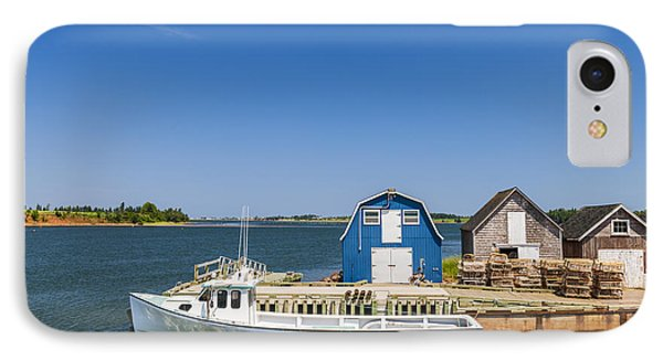 Fishing Dock In Prince Edward Island IPhone Case by Elena Elisseeva