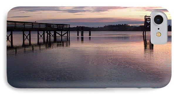 Fishing Dock Pastel IPhone Case by Suzy Piatt