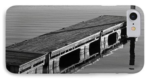 Fishing Dock Phone Case by Frozen in Time Fine Art Photography