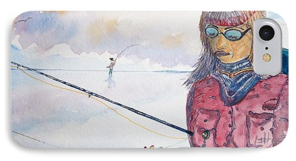 Fishing IPhone Case by Don Hand