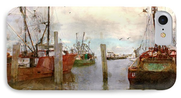 Fishing Fleet IPhone Case by John Rivera