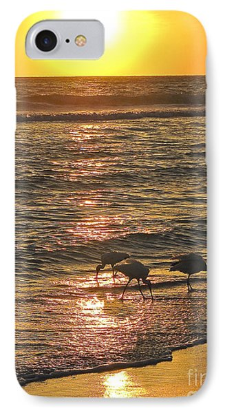 IPhone Case featuring the photograph Fishing For The Little Ones by Joan McArthur