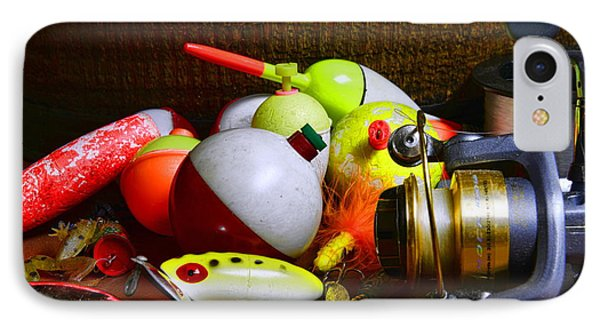 Fishing - Freshwater Tackle Phone Case by Paul Ward