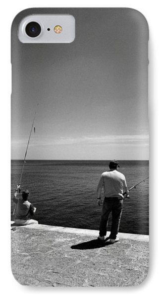 IPhone Case featuring the photograph Fishing by Luis Esteves