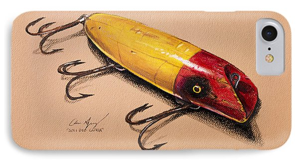 Fishing Lure IPhone Case by Aaron Spong