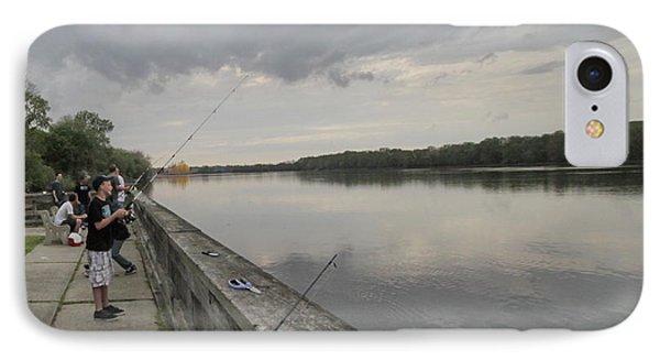 Fishing IPhone Case by Mustafa Abdullah