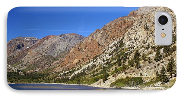 Fishing On Lundy Lake IPhone Case by Rod Jones
