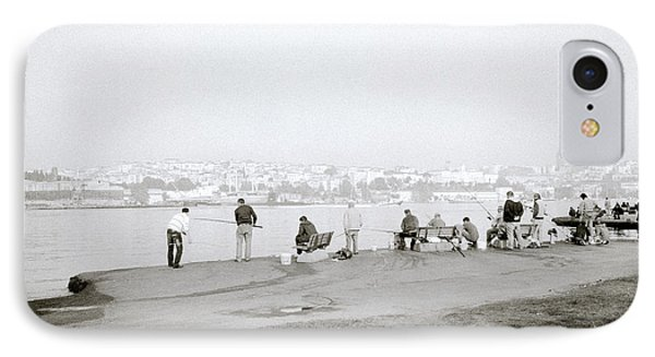 Fishing On The Golden Horn IPhone Case by Shaun Higson