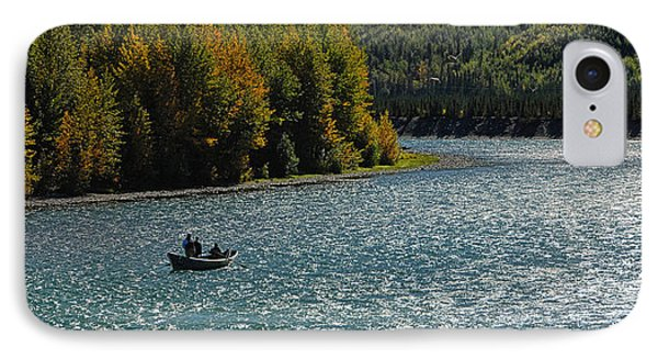 Fishing On The Kenai River IPhone Case