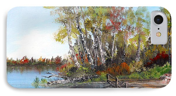 Fishing Spot IPhone Case by Dorothy Maier