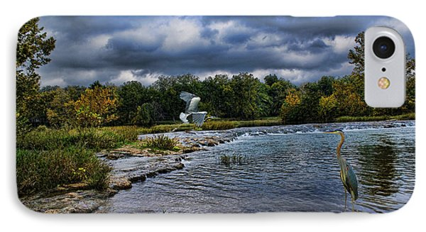 Fishing Spot IPhone Case by Rick Friedle