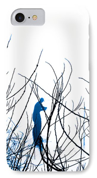 IPhone Case featuring the photograph Fishing The River Blue by Robyn King