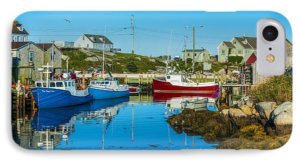 Fishing Village IPhone Case by Ken Morris