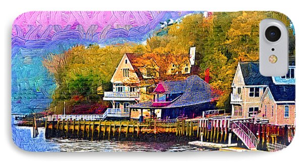 Fishing Village IPhone Case by Kirt Tisdale