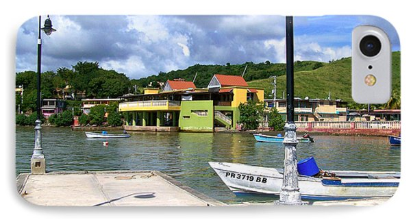 Fishing Village Puerto Rico IPhone Case