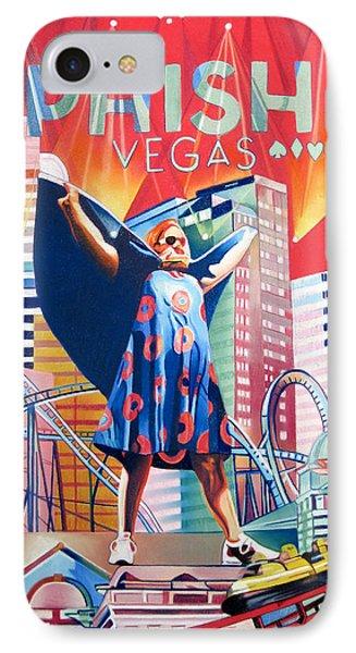 Fishman In Vegas Phone Case by Joshua Morton
