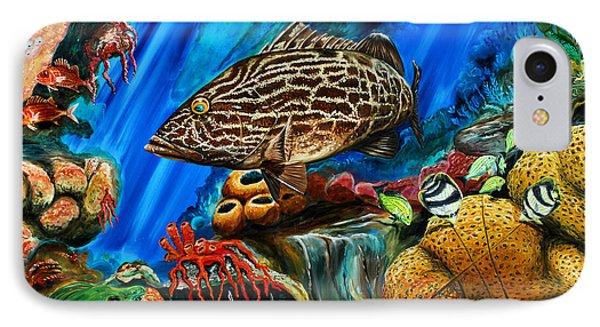 Fishtank IPhone Case by Steve Ozment