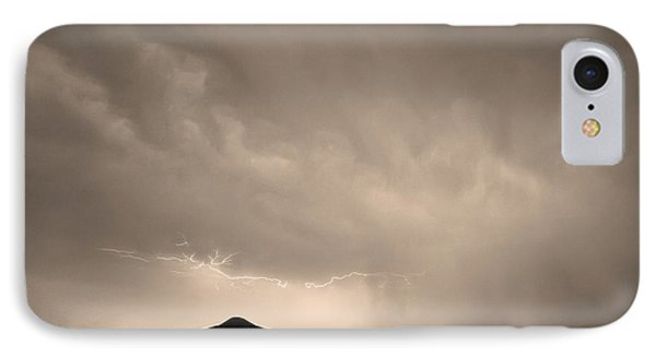 Fist Bump Of Power Sepia Phone Case by James BO  Insogna
