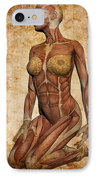 Fit Female Revealed IPhone Case by Daniel Hagerman