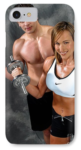 Fitness Couple 17-2 Phone Case by Gary Gingrich Galleries