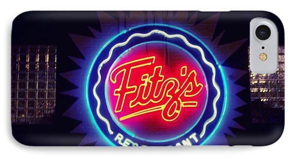 Fitz's Restaurant 2 IPhone Case by Kelly Awad