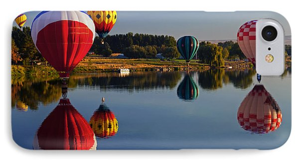 Five Aloft IPhone Case by Mike  Dawson