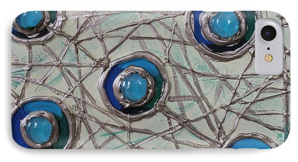 Five Circles IPhone Case by Cynthia Snyder