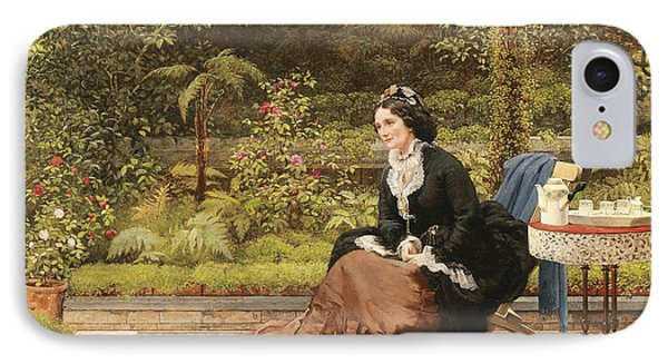 Five Oclock IPhone Case by George Dunlop Leslie
