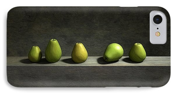 Five Pears IPhone 7 Case by Cynthia Decker