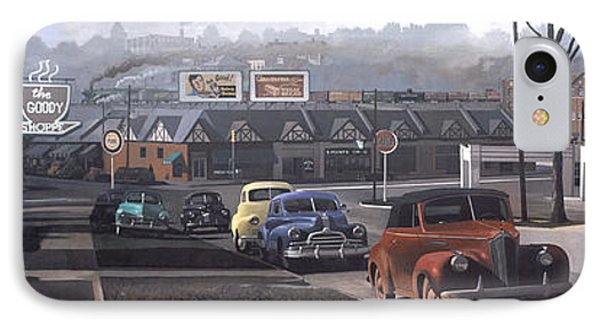 Five Points - 1948 IPhone Case by Blue Sky
