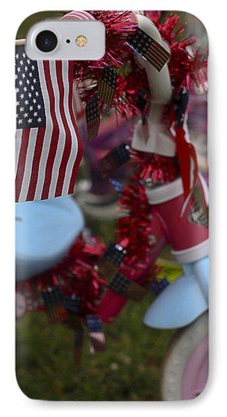 Flag Bike IPhone Case by Patrice Zinck