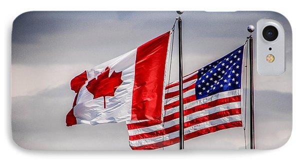 Flag Duo IPhone Case