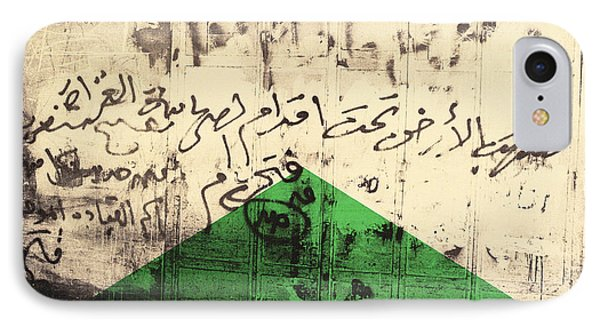 Flag I, 1992 Screenprint On Canvas IPhone Case by Laila Shawa
