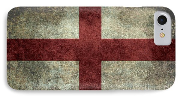 Flag Of England St Georges Cross Vintage Version To Scale IPhone Case