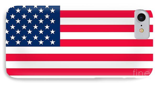 Flag Of The United States Of America IPhone Case by Anonymous