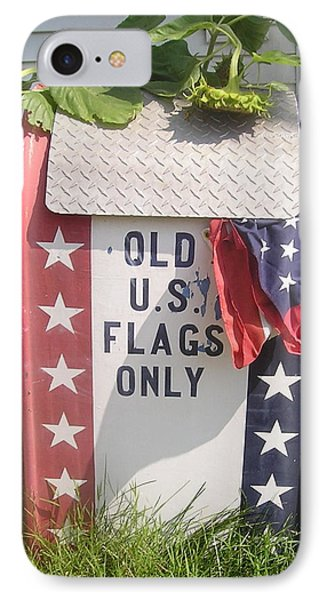 Flags Only IPhone Case by Roger Swezey