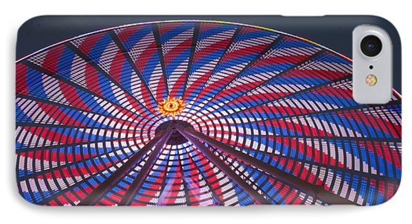 IPhone Case featuring the photograph Flag Wheel by Darleen Stry