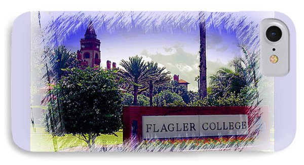 Flagler College St Augustine IPhone Case by Bob Pardue