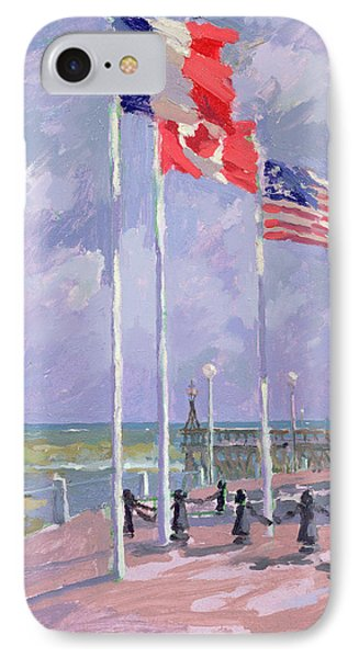 Flags At Courseulles Normandy  IPhone Case