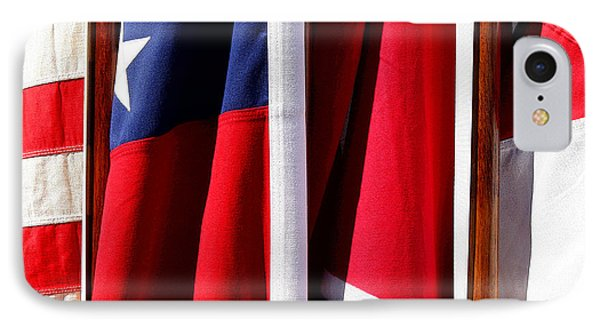 Flags Of The North And South Phone Case by Joe Kozlowski